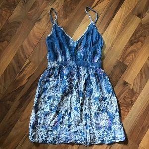 Lily White Dress • Mini Boho Dress